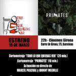 invitació estrena 15M 72ppp 150x150 - ESTRENA de TODO LO QUE QUIERAS VER i PRIMATES