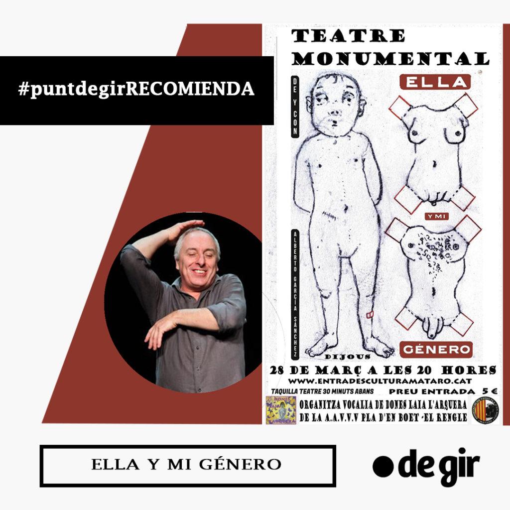 recomendación de la semana ELLA Y MI GÉNERO 1024x1024 - PUNT DE GIR RECOMIENDA