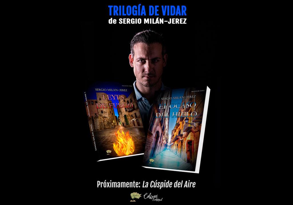 """escritor2 1024x716 - """"Trilogía de Vidar"""" de Sergio Milán-Jerez"""