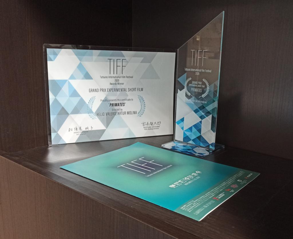 Foto del Premio TIFF